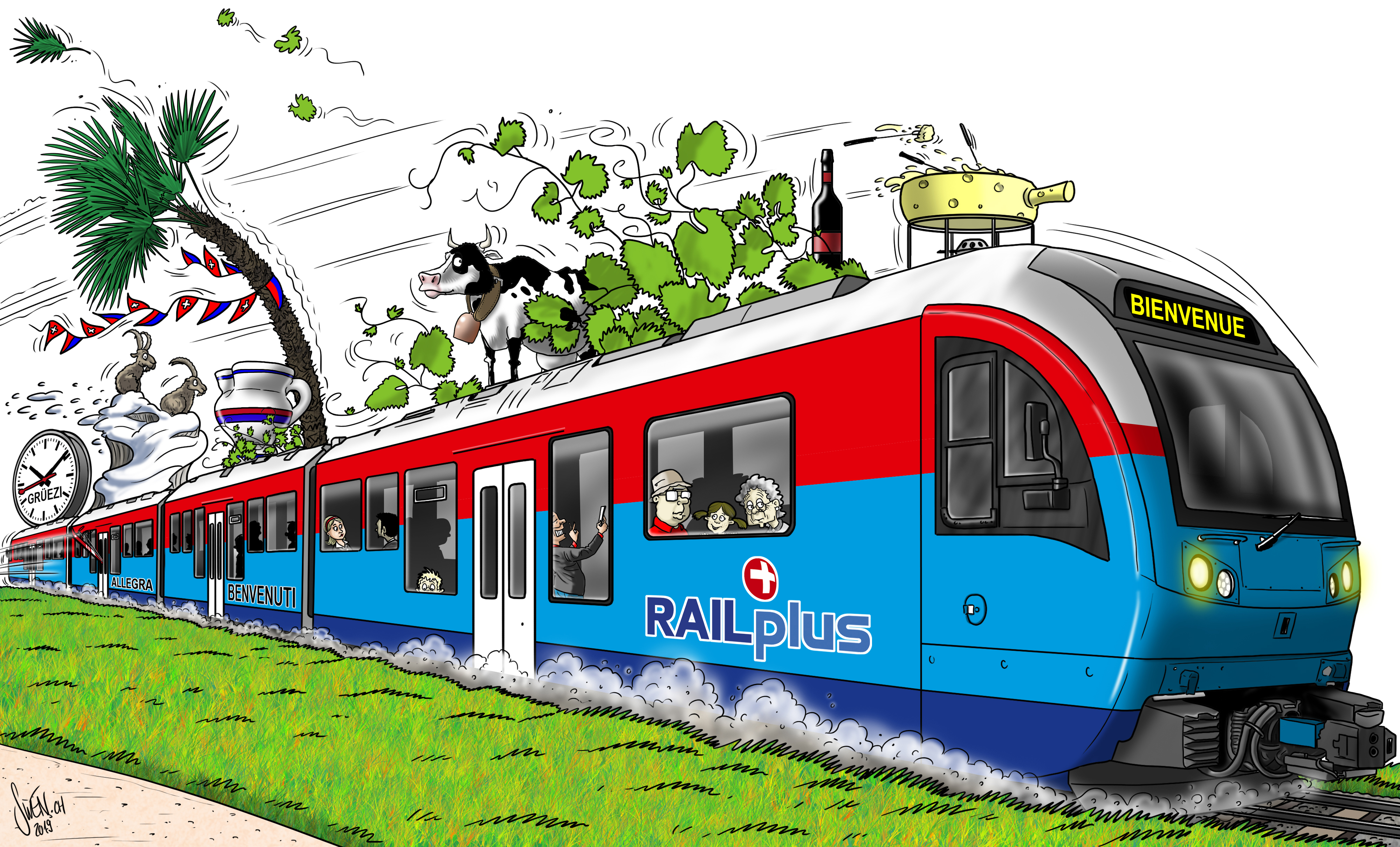 Cartoon Ticino